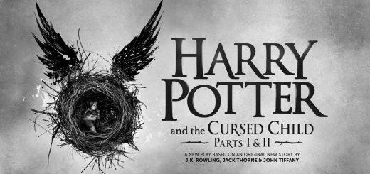 Гарри Поттер и проклятое дитя черно белое