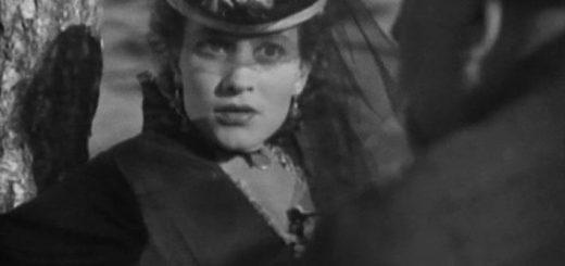 """черно-белый Кадр из фильма """"Бесприданница"""" 1936 года"""