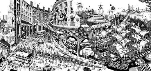 Чёрно-белые-иллюстрации-Уго-Гаттони