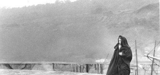 Женщина французского лейтенанта, кадр из фильма, черно-белый