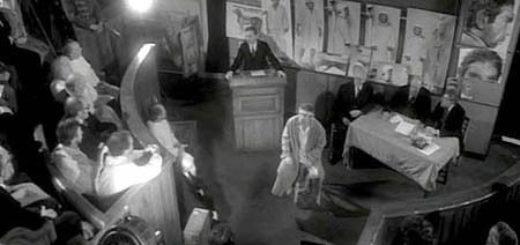 Собачье сердце, кадр из фильма, черно-белый