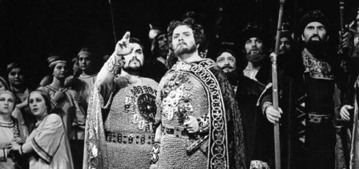 Князь Игорь, черно-белая картинка