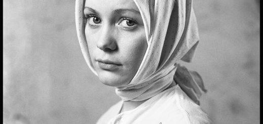 Наталья Коршунова, черно-белое фото