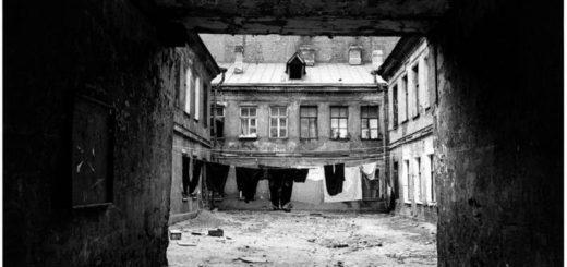 Петербург глазами Достоевского, черно-белое фото