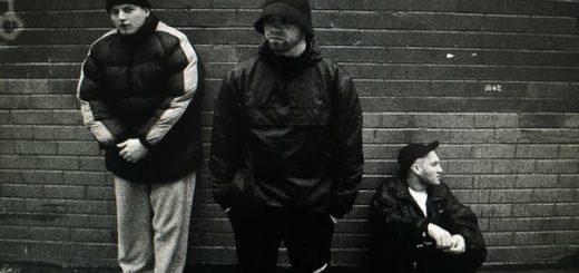 группа Грибы, черно-белое фото