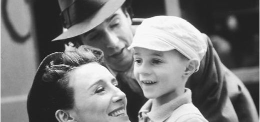 Жизнь прекрасна, фильм, черно-белое фото