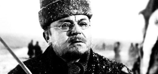 Пьер Безухов, черно-белое фото
