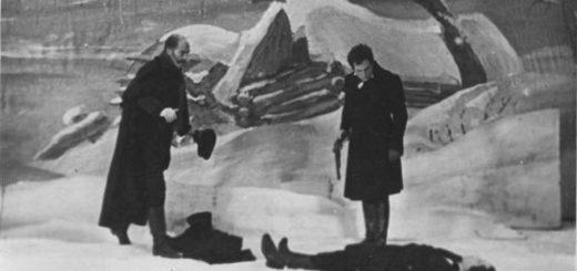 дуэль Онегина и Ленского, финал