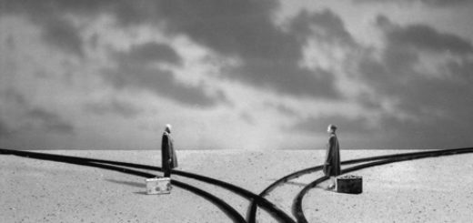 разошлись пути, ошибки, расставание, разлука, черно-белое фото