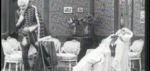 Германн убивает старуху, пиковая дама, черно-белая картинка