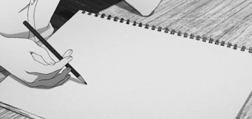 карандаш и листок бумаги