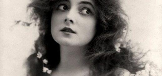 девушка 19 века, черно-белое фото