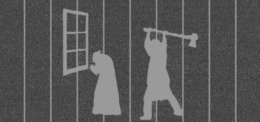преступление и наказание, черно-белое фото