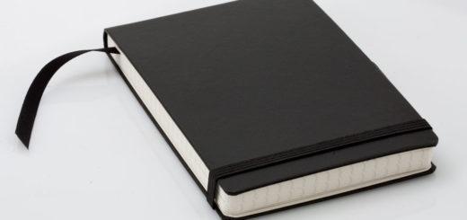 блокнот, книга, черно-белое фото