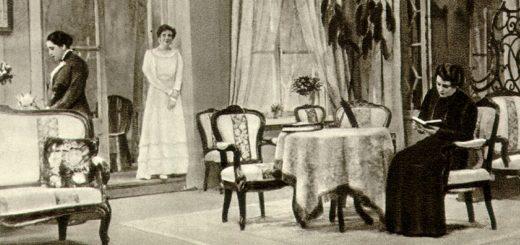 Антон Чехов, Три сестры, черно-белое фото
