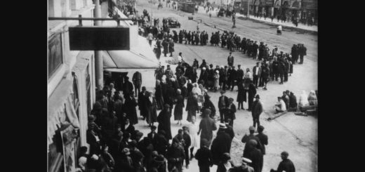 очереди в СССР, черно-белое фото
