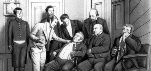 комедия Ревизор, спектакль, черно-белое фото
