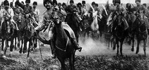 Остап, герой повести Тарас Бульба, черно-белое фото