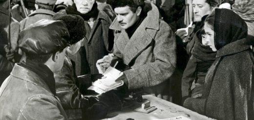 Доктор Живаго, черно-белое фото