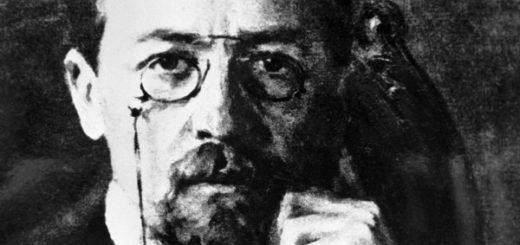 Антон Чехов, прозаик и драматург, черно-белое фото