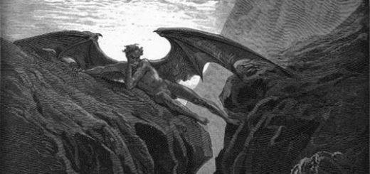 Дьявол, Люцифер, Сатана, Потерянный рай, Мильтон