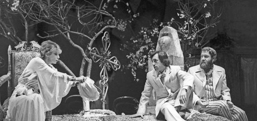 Вишневый сад, черно-белое фото, спектакль, Чехов