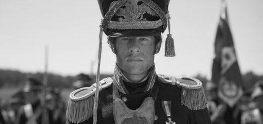 Война и мир, Андрей Болконский, черно-белое фото