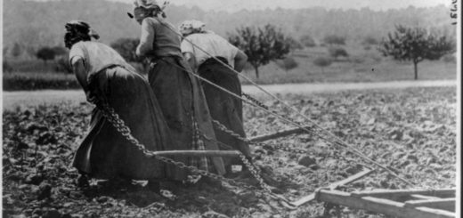 крестьянки, простолюдинки, крепостные, черно-белое фото
