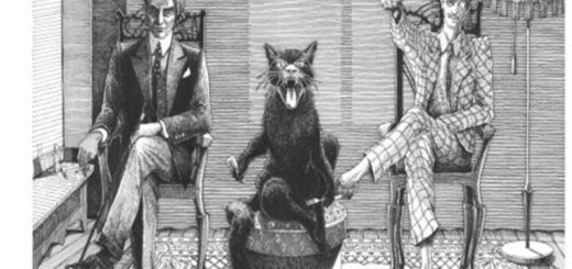 Мастер и Маргарита, воланд и свита, черно-белое фото