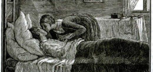 "Мария и Петр, герои произведения Пушкина ""Капитанская дочка"""