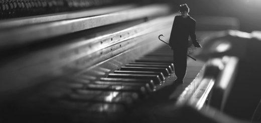музыка, фортепьяно, маленький человек