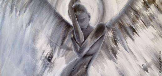 Ангел, рисунок, женщина с крыльями