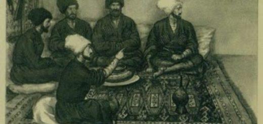 Кавказский пленник, горцы