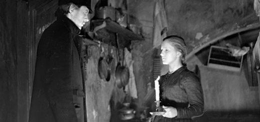 Родион Раскольников и Соня Мармеладова, кадр из фильма