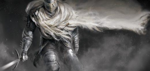 бредущий Рыцарь в доспехах