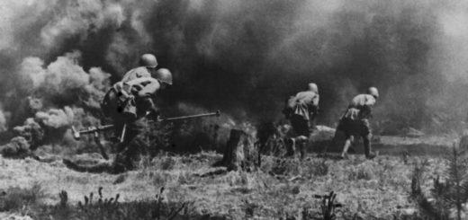 солдаты на великой отечественной войне, атака