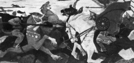 Слово о полку Игореве, бой с половцами
