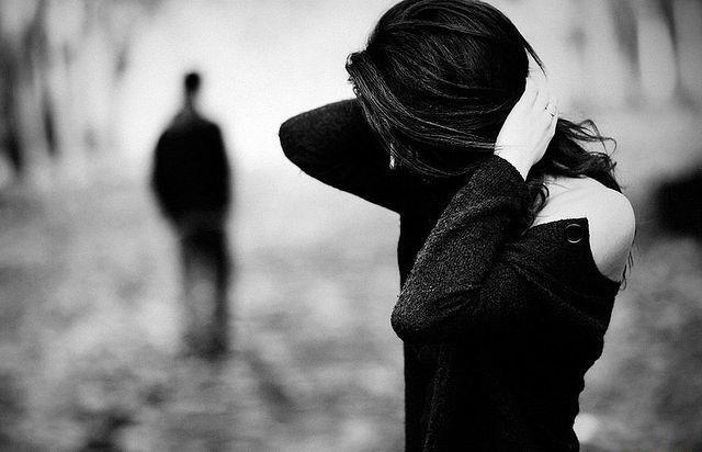 черно-белые фото любовь