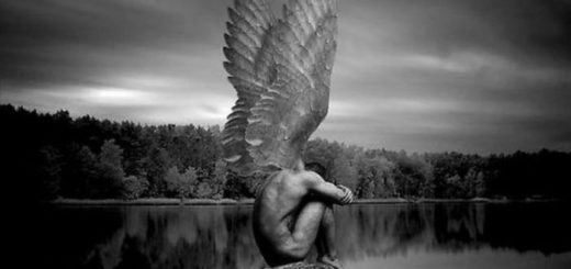 Демон, поэма Лермонтова, иллюстрация