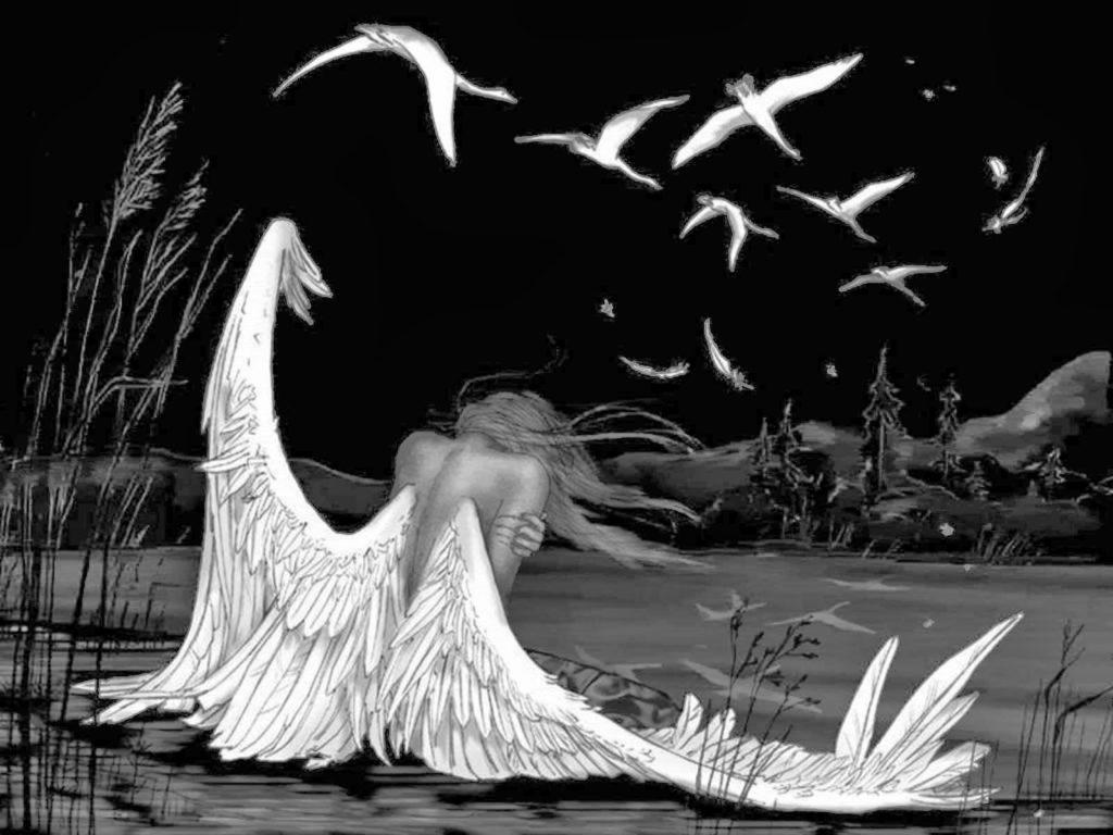 Тема и идея стихотворения ангел