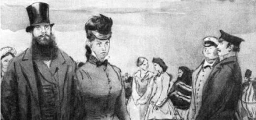 город Калинов и его обитатели, пьеса Гроза, иллюстрации