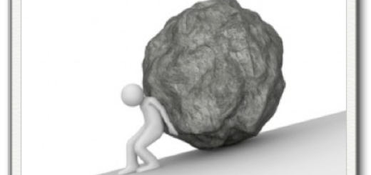 Сизиф, поднимающий камень