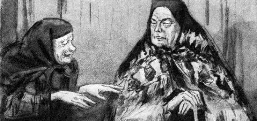 пьеса Гроза: Кабаниха и странница