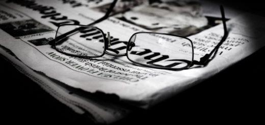 газета, журналист, повестка дня