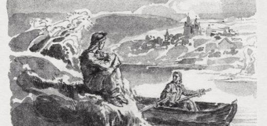 Бедная Лиза, иллюстрация к повести Карамзина