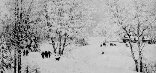 Русская зима, Юон
