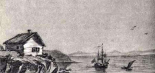 Тамань, иллюстрация к роману Герой нашего времени