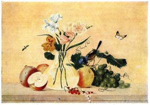 Цветы, фрукты, птица, Федор Толстой