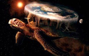 черепаха держит землю