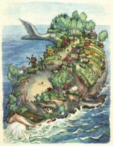 кит, который держит запад